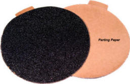 Silicon carbide wet/dry PSA discs