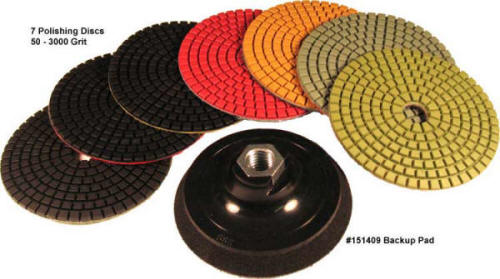 Kasco Diamond Polishing Pads