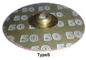 Kasco Type S Quick Change Disc