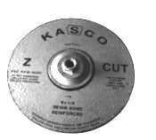Kasco Z-Cut Zirconia Wheel